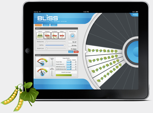 BLiSS Sim for iPad Screen